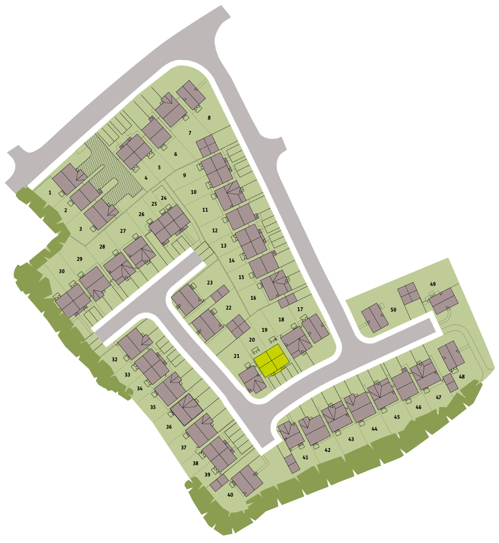 Wedgwood View Site Plan